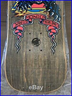 Vintage 1988 SMA Natas Kaupas Panther 3 Santa Cruz Skateboard Deck