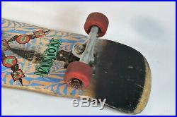 Vintage (1988) Vision Gator SKATEBOARD withSanta Cruz Bullet & Speed Wheels