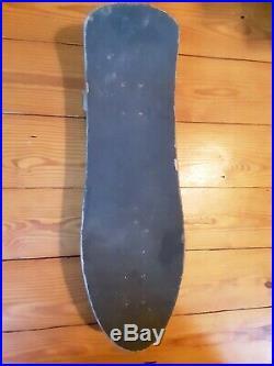 Vintage 1989 Santa cruz Jeff Hedges skateboard, slimeball dog vomit wheels