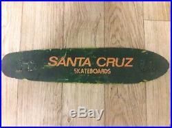 Vintage 70s First Santa Cruz Skateboard old school nos Rare