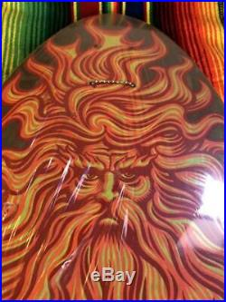 Vintage 80s Santa Cruz Jason Jessee Sun God Deck withShrink-wrap Extremely Rare