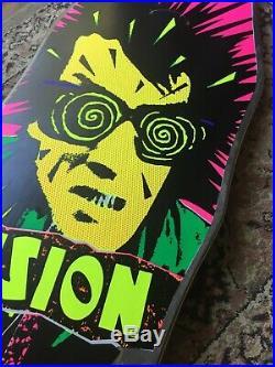 Vintage 80s Vision Psycho Stick Mini Skateboard Zorlac Powell Sims Santa Cruz