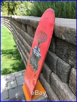 Vintage Alan Ollie Gelfand Powell Peralta skateboard Santa Cruz Bones Brigade