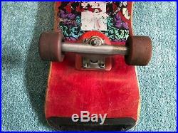 Vintage Alva Eddie Reategui Skateboard Santa Cruz Powell Peralta Natas Zorlac