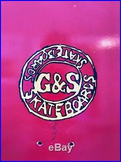 Vintage Billy Ruff G&S Skateboard nos Rare Santa Cruz Sims Powell Peralta alva