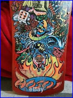 Vintage Christian Hosoi Collage Hammer Head Santa Cruz Skateboard OG