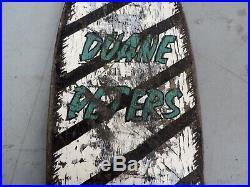 Vintage Duane Peters Santa Cruz Pro Series Complete Skateboard OG Deck