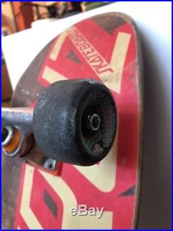 Vintage Eric Dressen Santa Cruz Skateboard Everslick