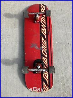Vintage Jason Jessee Skateboard Santa Cruz Everslick Scs