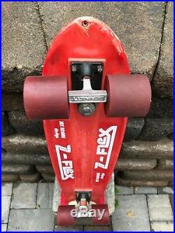 Vintage Jay Adams Zflex skateboard Zephyr Dogtown Sims G&S Santa Cruz