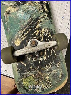 Vintage Jeff Kendall Atomic Man Santa Cruz 1989 skateboard not NOS used RARE