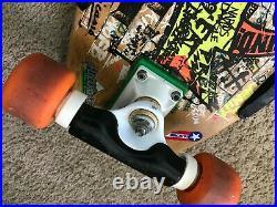 Vintage Jeff Kendall Graffiti Santa Cruz Skateboard
