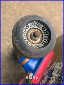 Vintage Jeff Kendall Graffiti Santa Cruz Skateboard Authentic 1986