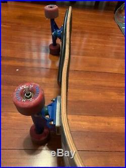 Vintage Jeff grosso Santa Cruz Skateboard Alice In Wonderland