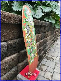 Vintage Mark Gonzales Vision Skateboard Santa Cruz Sims Krooked blind sma