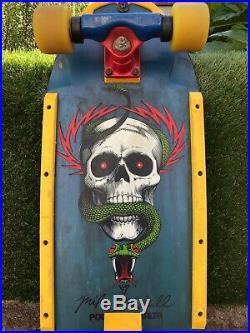 Vintage Mike McGill Powell Peralta skateboard Zflex Alva G&S SMA Santa Cruz