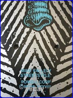 Vintage Mike Vallely Powell Peralta skateboard nos Santa Cruz Elephant sma