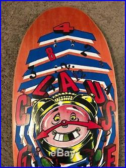 Vintage NOS Claus Grabke Santa Cruz Skateboard Deck