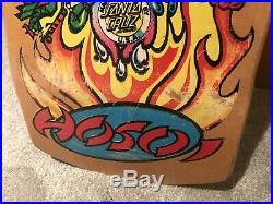 Vintage NOS SANTA CRUZ Hosoi Collage Skateboard Deck Very Rare Rob Roskopp