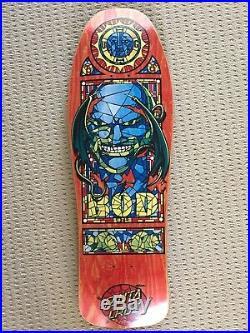 Vintage NOS Santa Cruz Bod Boyle Skateboard Deck