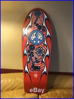 Vintage NOS Santa Cruz John Lucero Street Thing Skateboard Deck Original OG