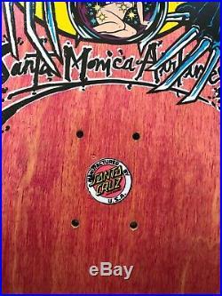 Vintage Natas Kaupas Santa Monica Airlines skateboard Santa Cruz 101 sma