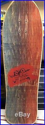 Vintage Natas skateboard deck Evil Cat SMA Santa Cruz Original Powell