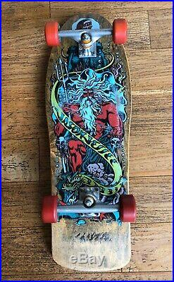Vintage OG Jason Jessee Neptune Santa Cruz Skateboard Deck