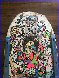 3f9d010657 Vintage OG Jeff Grosso Mini Toybox Santa Cruz 80s Original Skateboard Deck