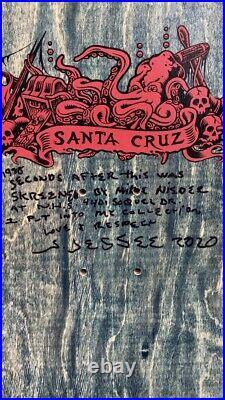 Vintage OG NOS Santa Cruz Jason Jessee Neptune From Jasons Personal Collection