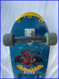 Vintage OG Powell Peralta Steve Caballero Skateboard pig Hawk Santa Cruz McGill