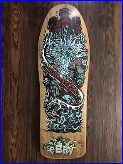 Vintage OG Santa Cruz Jason Jessee Neptune Skateboard Mojo Phillips Art Powell