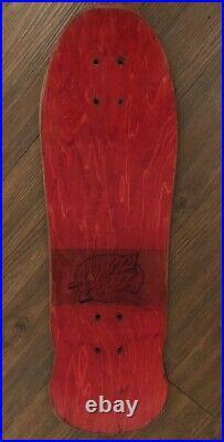 Vintage OG Santa Cruz Rob Roskopp Face Skateboard Deck