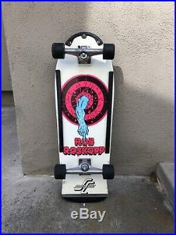 Vintage OG Santa Cruz Rob Roskopp Target One Skateboard