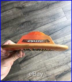 Vintage OG Santa Cruz Tom Knox Firepit Skateboard Deck