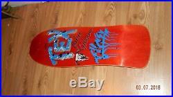 Vintage OG Skateboard John TexGibson 1989 Nos Santa Cruz Independent Full Size