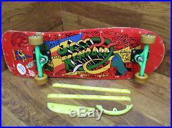 Vintage Old School Jess Kendall Santa Cruz Rolls Racer Variflex Skateboard