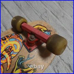 Vintage Original 1989 Santa Cruz Jeff Kendall Snake Skateboard Skate Complete