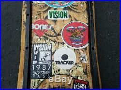 Vintage Original OG 1980s Rob Roskopp Skateboard Santa Cruz