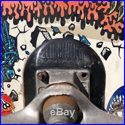 Vintage Original Santa Cruz Rob Roskopp Target Skateboard Complete Vtg 80s RARE