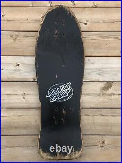 Vintage Original Santa Cruz Toyoda Skateboard