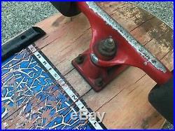 Vintage PLANET EARTH CHRIS MILLER Skateboard Tracker Santa Cruz Slime Balls ASIS