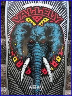 Vintage Powell Peralta Mike Vallely nos skateboard Santa Cruz Blind Elephant