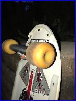 Vintage Powell Peralta Skateboard Sword Skull Ray bones Santa Cruz Vision sma