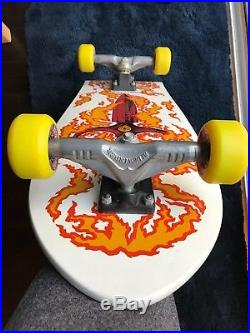 Vintage Powell Peralta Tommy Guerrero Skateboard nos Santa Cruz Bones Brigade