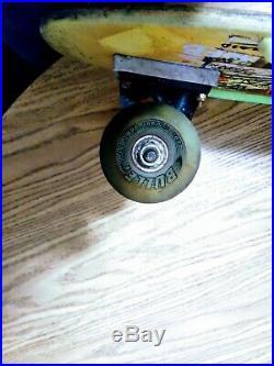 Vintage Rare Jeff Kendall skateboard authentic complete Graffiti Santa Cruz