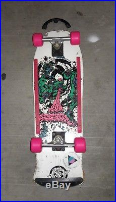 Vintage Rare Rob Roskopp 80's Santa Cruz skateboard Mint Gullwings Natas Grosso