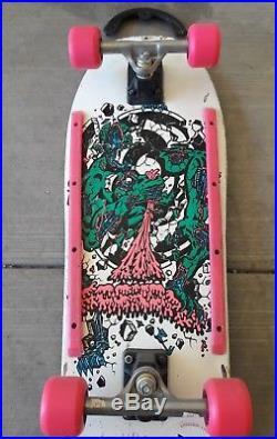 Vintage Rob Roskopp Target IV 4 Skateboard Santa Cruz Natas NOS Gullwing Grosso