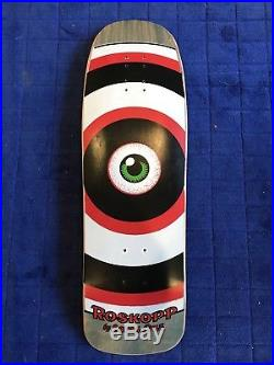 Vintage Rob roskopp Santa Cruz Skateboard Nos Target Eye Grosso Salba Vallely