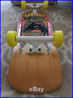 Vintage SMA Natas Kaupas Panther Skateboard Deck Santa Monica Cruz Rare
